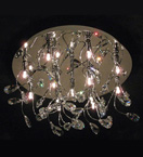 13 Light Ornate Crystal Chandelier