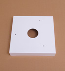 Large Square Hoist Cover Plate
